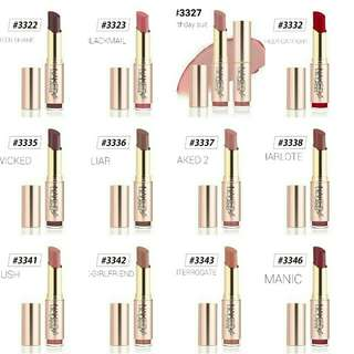 O.TWO.O NAKED 4 SERIES LIPSTICK MATTE WITH 20 COLOR