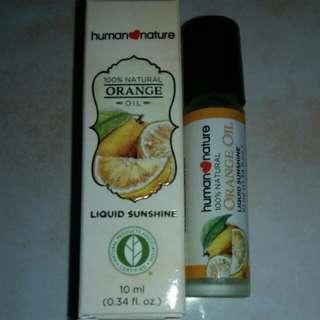 Human Nature 100% Natural Orange Oil