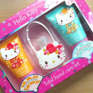 Hello Kitty Total Hand Care Gift Set