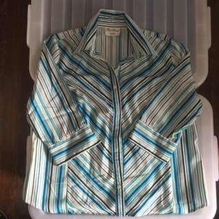 Plus size office blouse/top about XXL