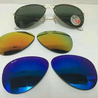 Ray Ban Aviator Flip Out 3 in 1