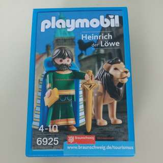 Playmobil heinrich der lowe 6925