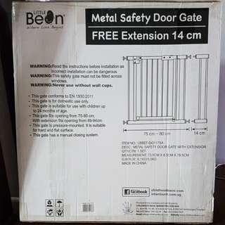 Metal Safety Door Gate (Little Bean)