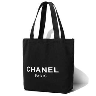 Chanel 日本雜誌附送贈品帆布袋 (CHANEL PARIS) shopping tote bag