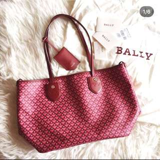 BALLY AUTHENTIC BERNINA TOTEBAG COMPLETE