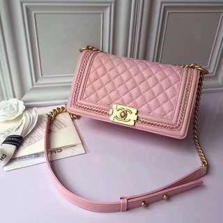 Chanel Le Boy Pink
