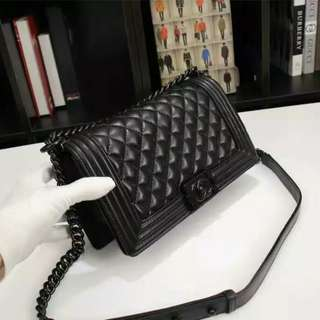 Chanel Le Boy Black