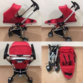 Stroller Quinny Zapp 1.0 (red colour) . .