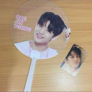 Wanna One Bae Jin Young Fan