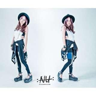 [全新]Nu By Slightly Numb Legging拼接內搭褲