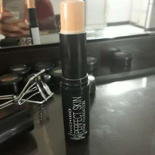 Nichido perfect skin stick foundation