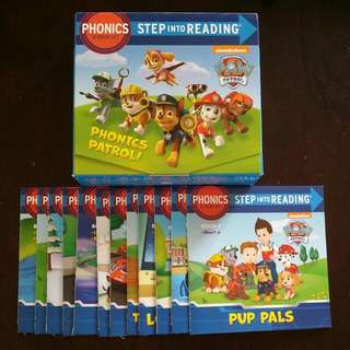 Paw Patrol (Step Into Reading Phonics)