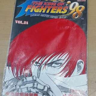 拳皇98 KOF vol.24 植毛封面特別版