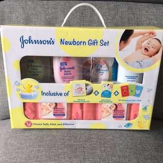 Brand New Johnson's Newborn Gift Set