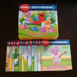 Sesame Street (Step Into Reading Phonics)