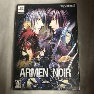 PlayStation 2 限定版連特典-ARMEN NOIR
