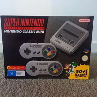 Super Nintendo Entertainment System Nintendo Classic Mini