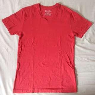 Forever 21 Men V-neck T-Shirt