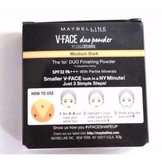 NEW MAYBELLINE Face Studio - V Shape Powder MEDIUM DARK