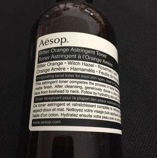 Aesop toner (6/10 condition)