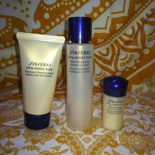 (包郵) Shiseido Vital-Perfection系列 旅行裝
