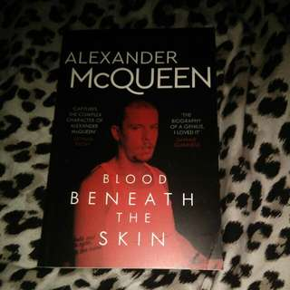 Blood Beneath The Skin - Alexander McQueen