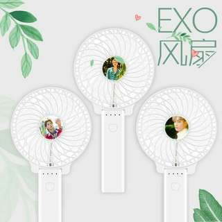 EXO THE WAR KOKOBOP Mini Hand Fan