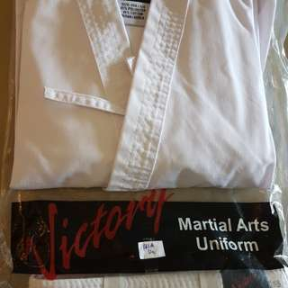 Martial arts uniform for kids