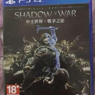 PS4 中土世界 戰爭之影(二手)