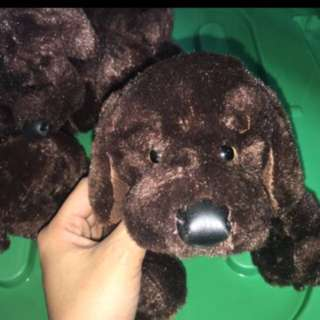 🎄4 Lab pups stuffed toys