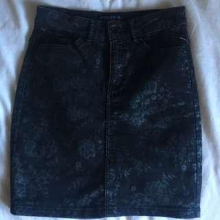 Forever new denim skirt