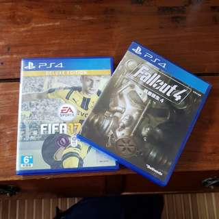 Preowned ps4 games