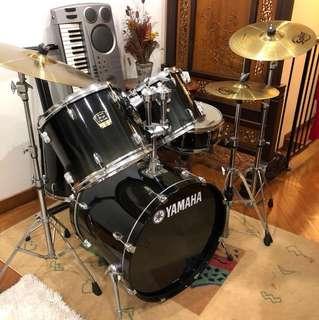 *price reduced* Yamaha Stage Custom Drum Set