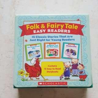 Folk and Fairy Tale Easy Reader Set (15books)