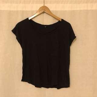 UNIQLO Black Shirt