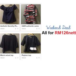 authentic ladies top/blouses
