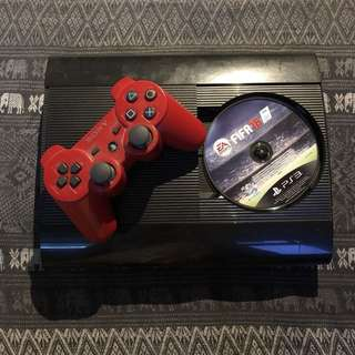 PS3 500GB Slim (CECH-4012C)連手掣及game
