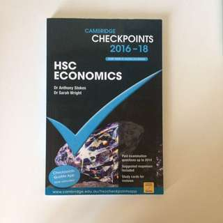HSC Economics Cambridge Checkpoints