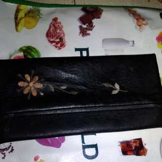 Leather Pouch Wallet