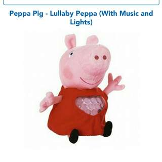Peppa Pig Lullaby Peppa (with Music and Changing Colour Nightlight)