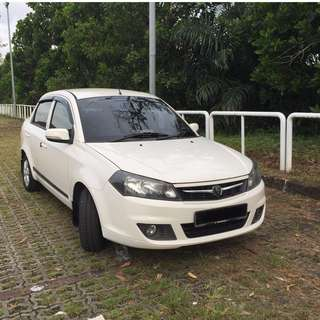 2013 Proton Saga 1.3 FLX Rent a Car [Monthly / Yearly Rental]