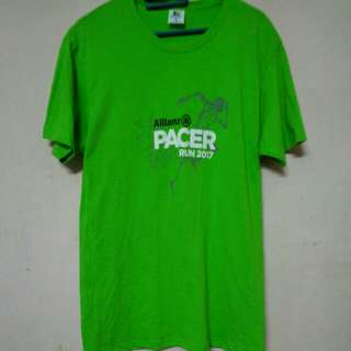 Tshirt cotton Crew Allianz Pacer run