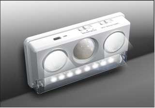 USB充電式自動感應夜燈 - Rechargeable Motion Sensor LED Cabinet Light - A0680