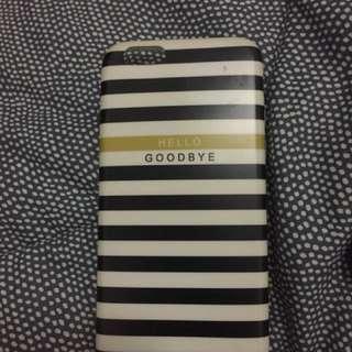 Hello goodbye Iphone 6 case