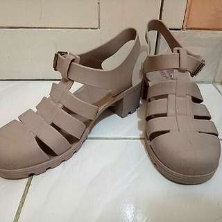 Bara jelly wedges shoes