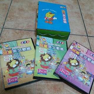兒童英文歌謠一套6CD