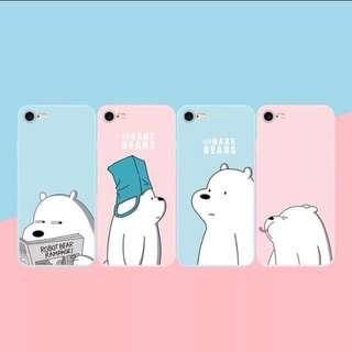 [PO] WE BARE BEARS phone cover