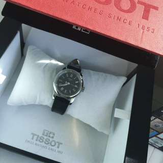 Authentic Tissot Leather Watch