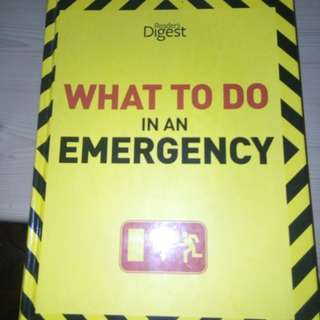 Emergency First Aid All-in-One Book