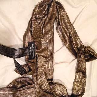 NEW ZARA skinny scarf